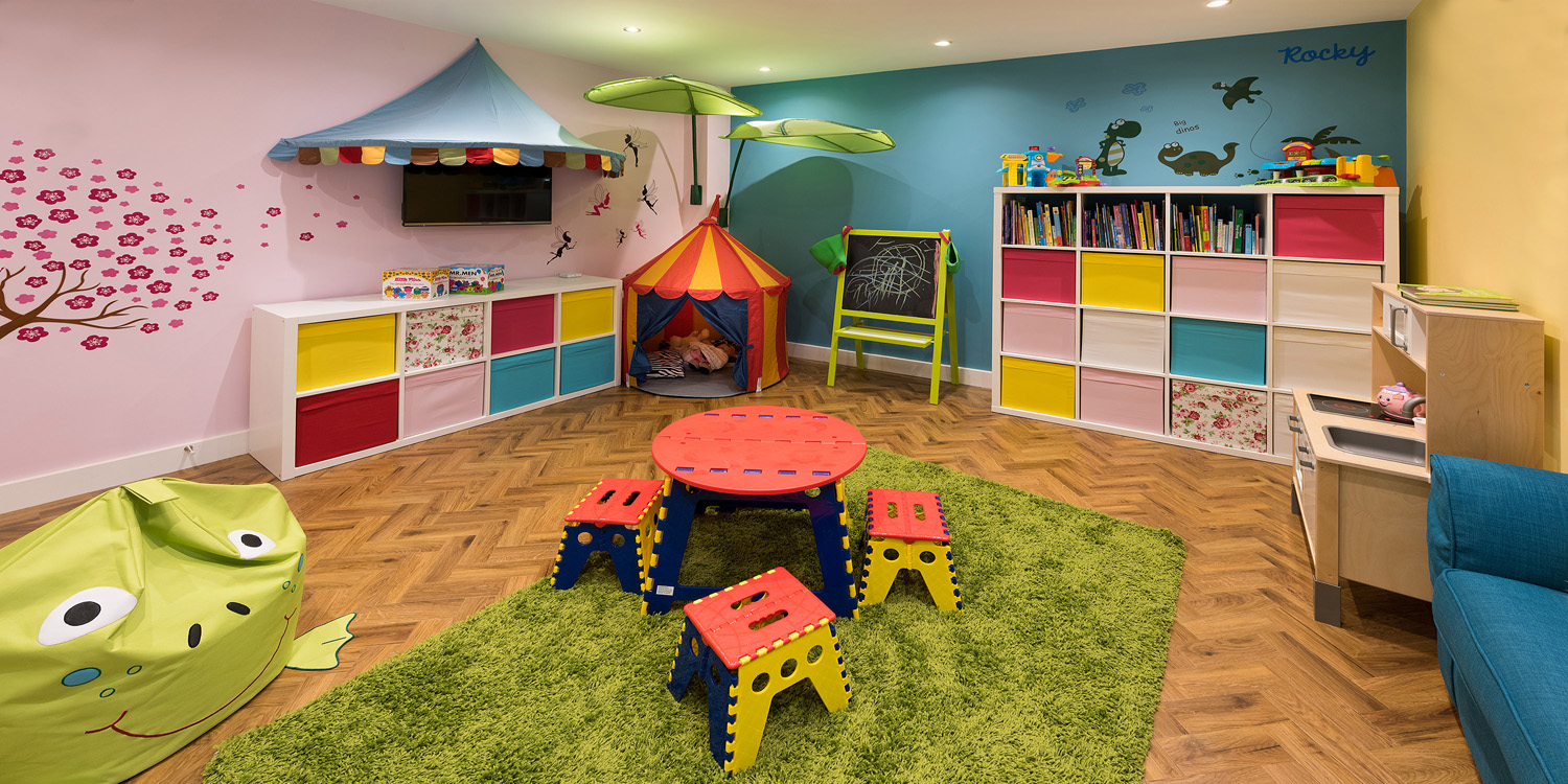 Basement Childrens Play Area